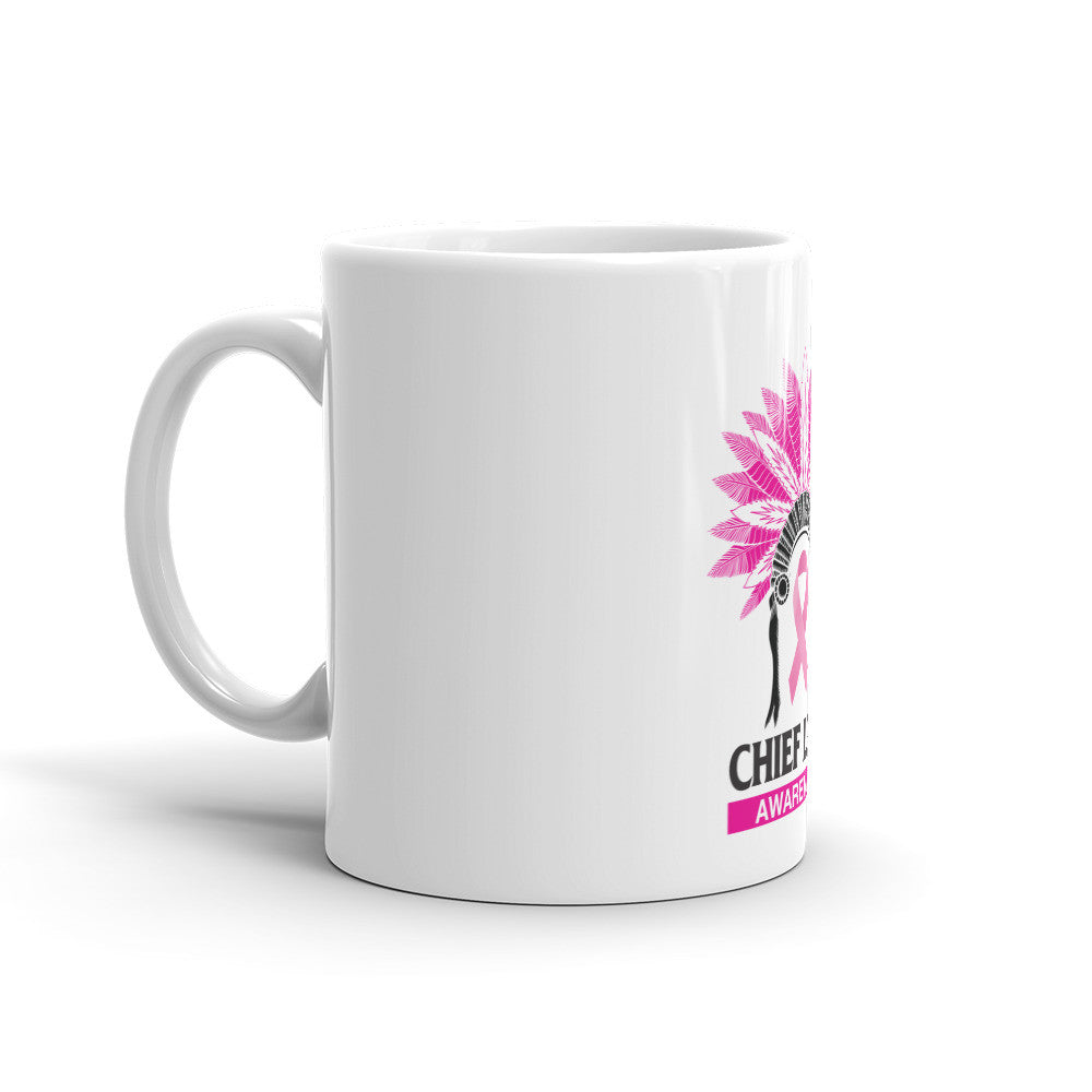 CHIEF LOUD BREAST CANCER AWARENESS Mug - Chief Loud