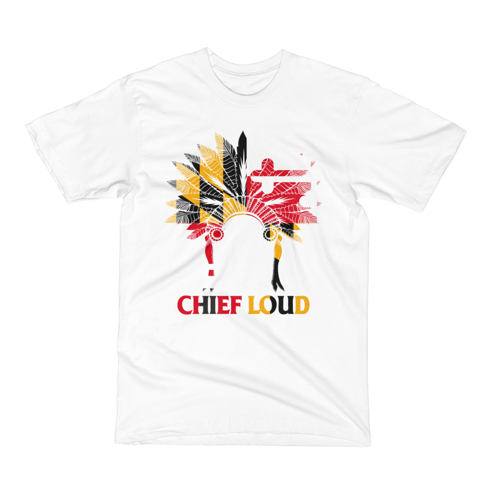 CHIEF LOUD MARYLAND Men's Short Sleeve T-Shirt - Chief Loud