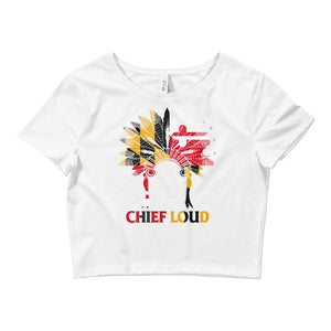 Women's Crop Tee - Chief Loud