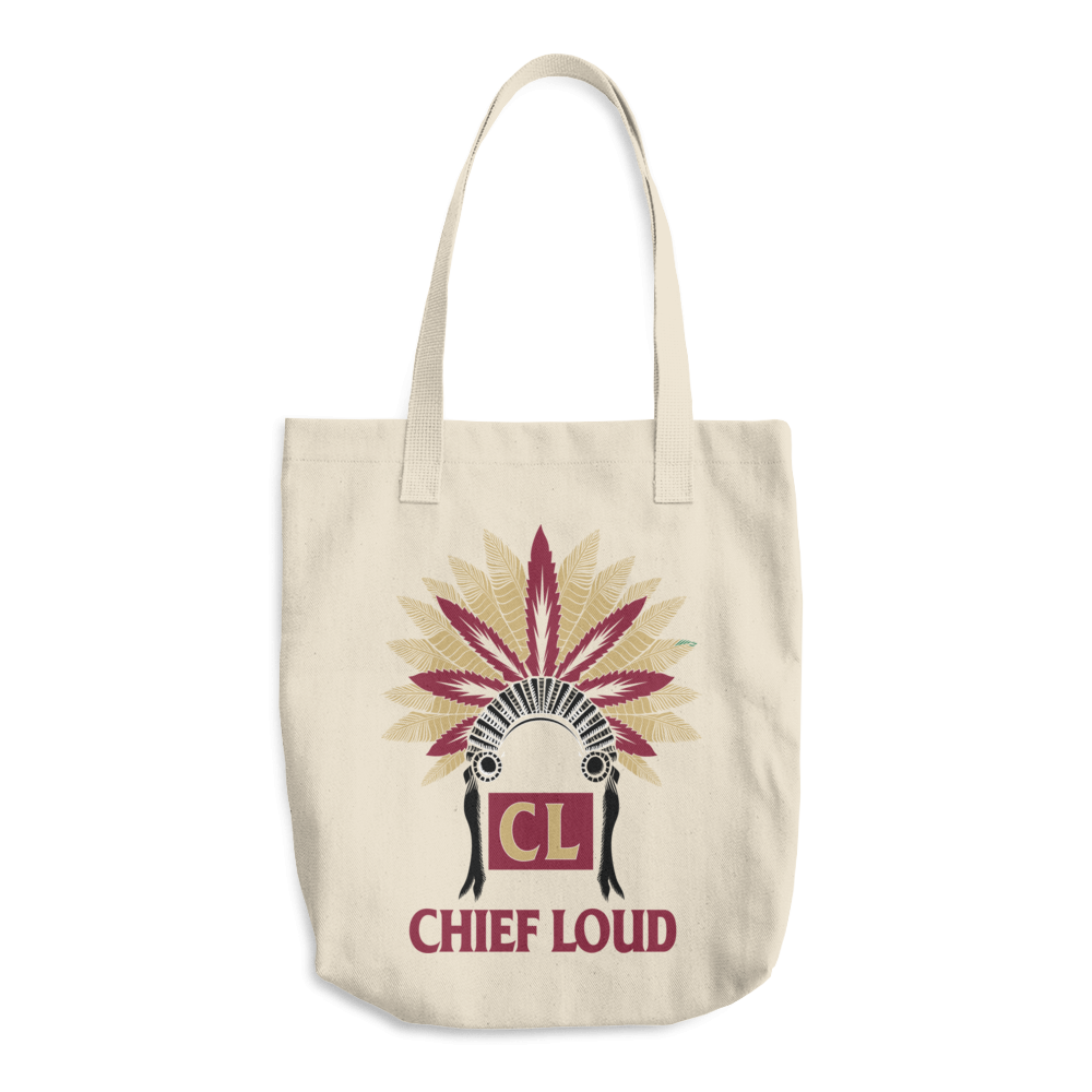 CHIEF LOUD TALLAHASSEE Cotton Tote Bag