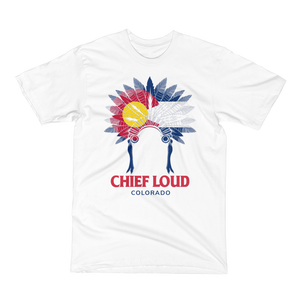 CHIEF LOUD COLORADO Short Sleeve T-Shirt - Chief Loud