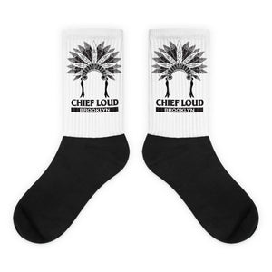 CHIEF LOUD BROOKLYN Black foot socks - Chief Loud
