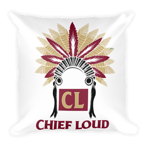 CHIEF LOUD TALLAHASSEE Square Pillow - Chief Loud