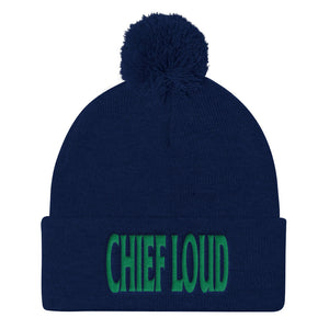 CHIEF LOUD Pom Pom Knit Cap - Chief Loud