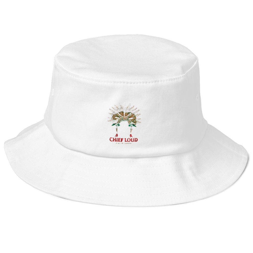 CHIEF LOUD Old School Bucket Hat