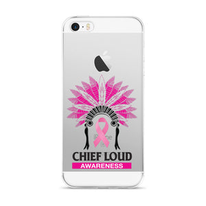 CHIEF LOUD BREAST CANCER AWARENESS iPhone case - Chief Loud