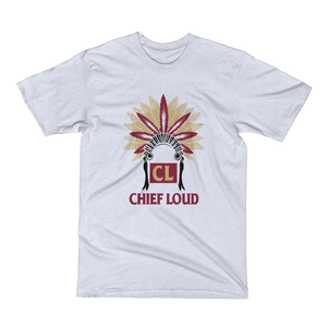 CHIEF LOUD TALLAHASSEE Men's Short Sleeve T-Shirt - Chief Loud
