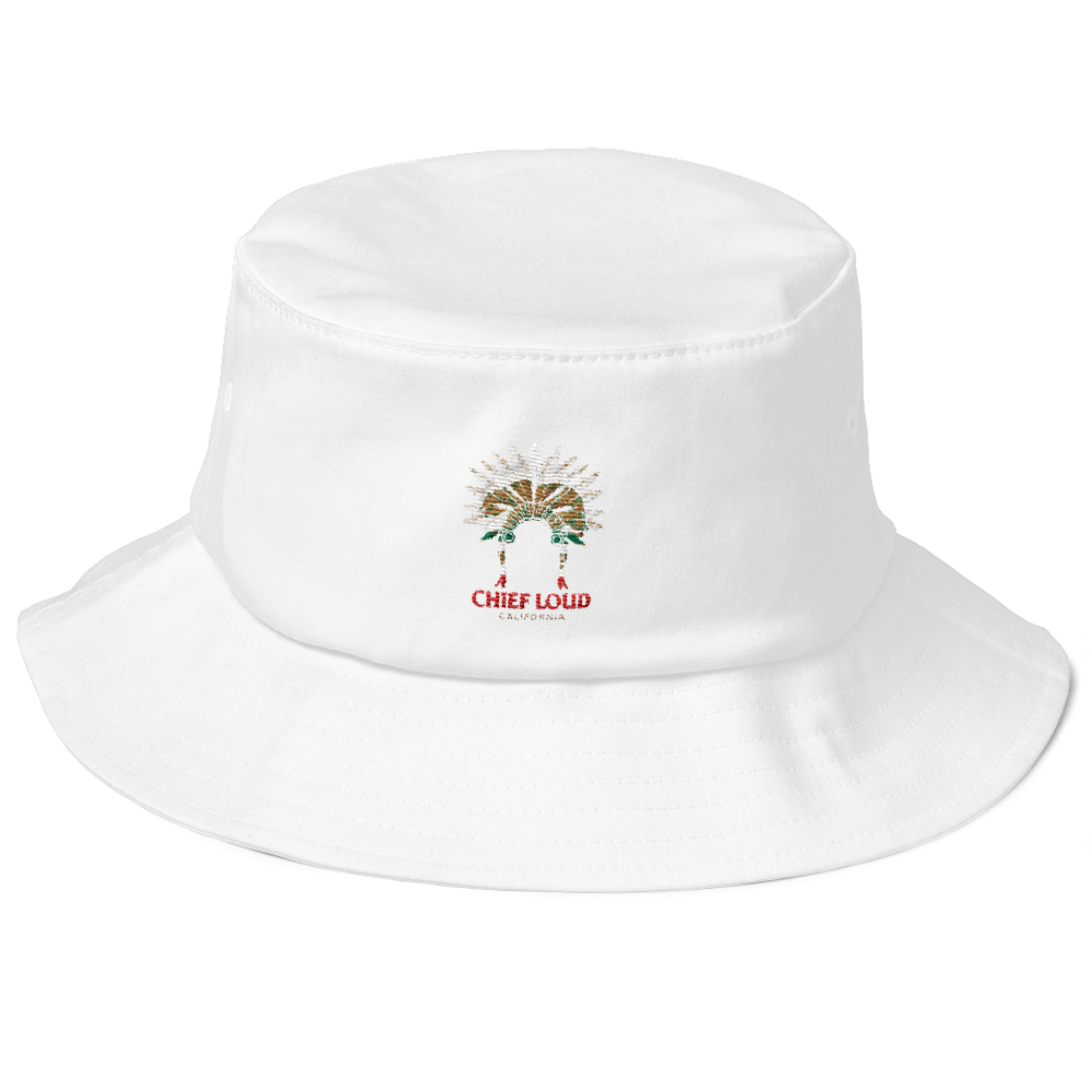 CHIEF LOUD CALIFORNIA Old School Bucket Hat