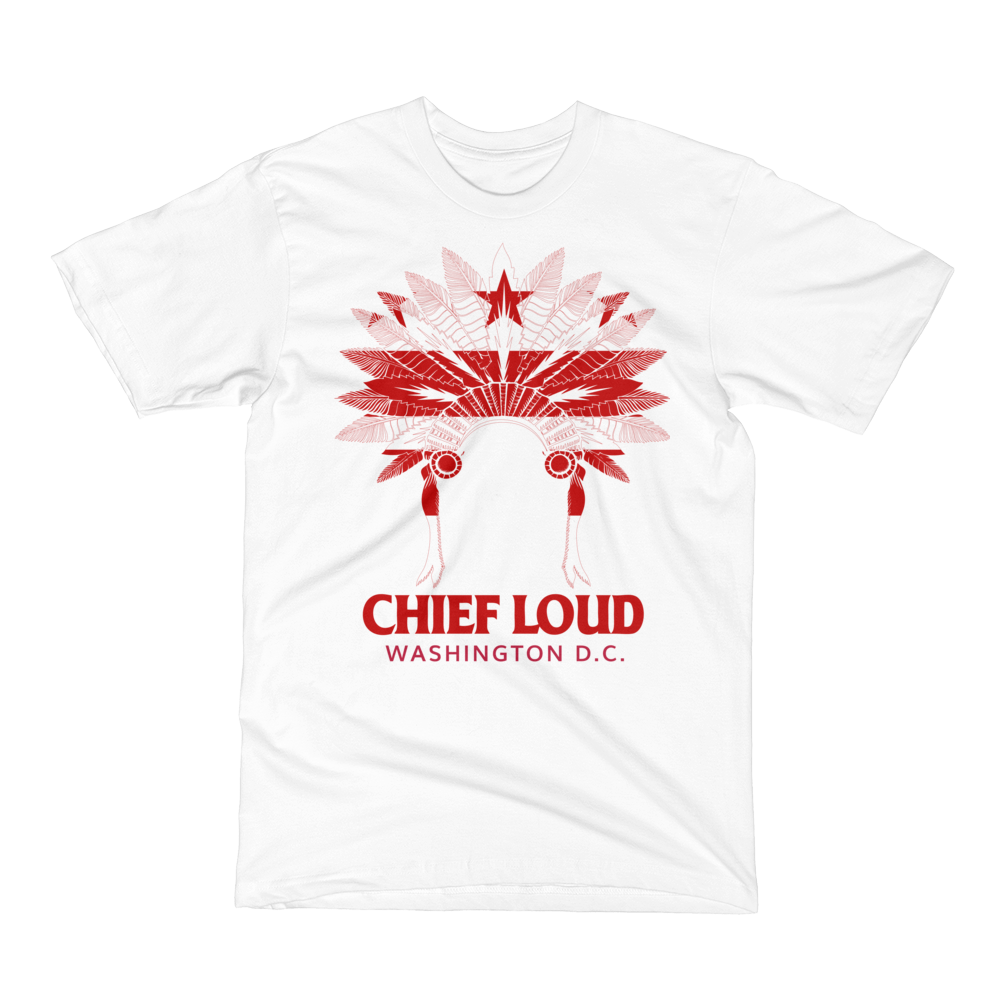 CHIEF LOUD WASHINGTON D.C. Short Sleeve T-Shirt - Chief Loud
