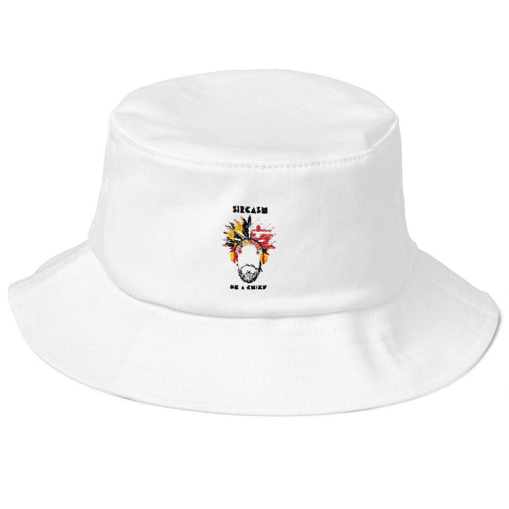 SIRCASM BE A CHIEF! Old School Bucket Hat