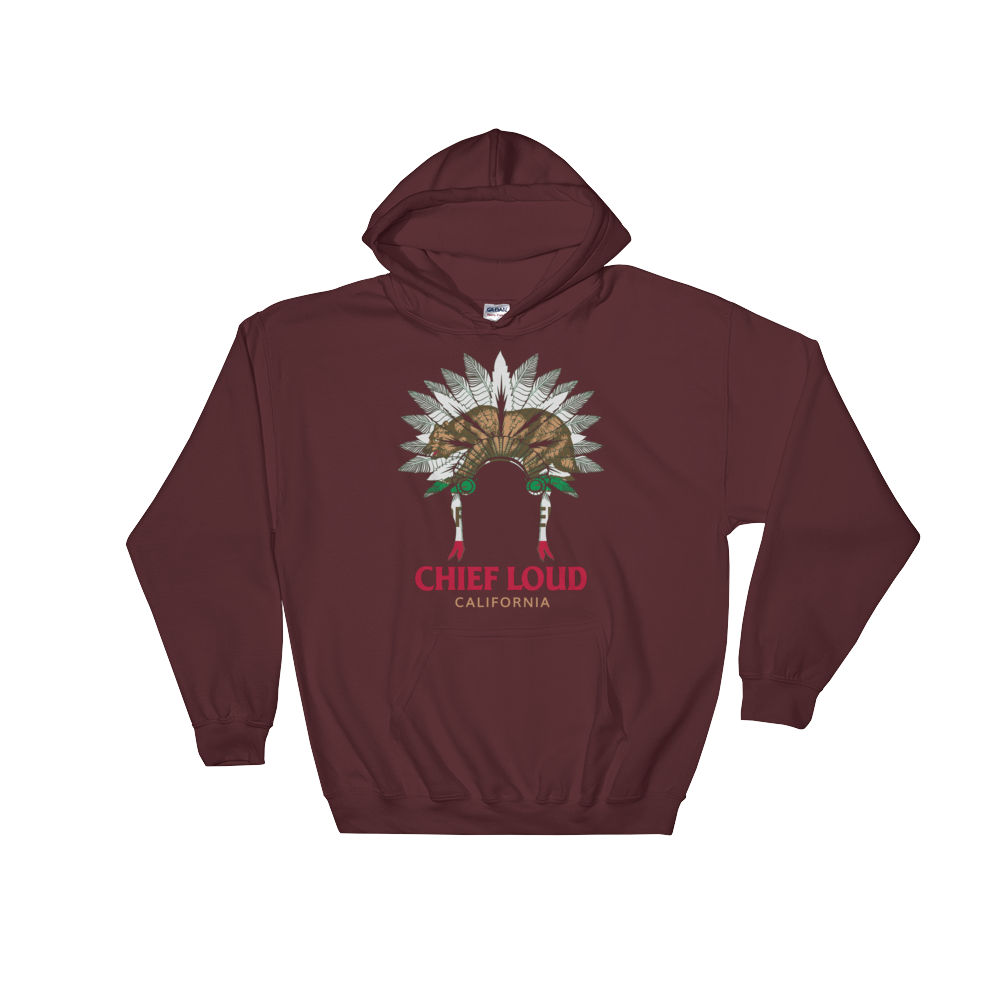 CHIEF LOUD CALIFORNIA Hooded Sweatshirt