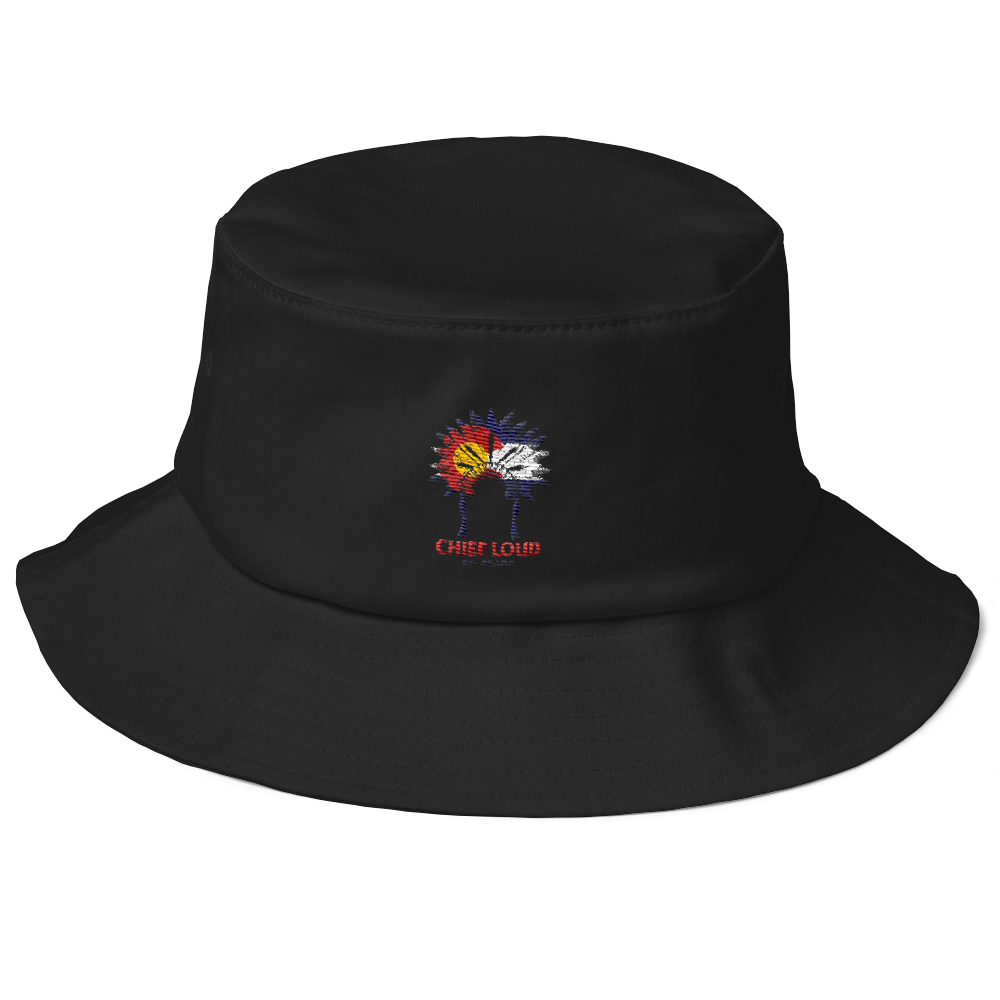 CHIEF LOUD COLORADO Old School Bucket Hat - Chief Loud