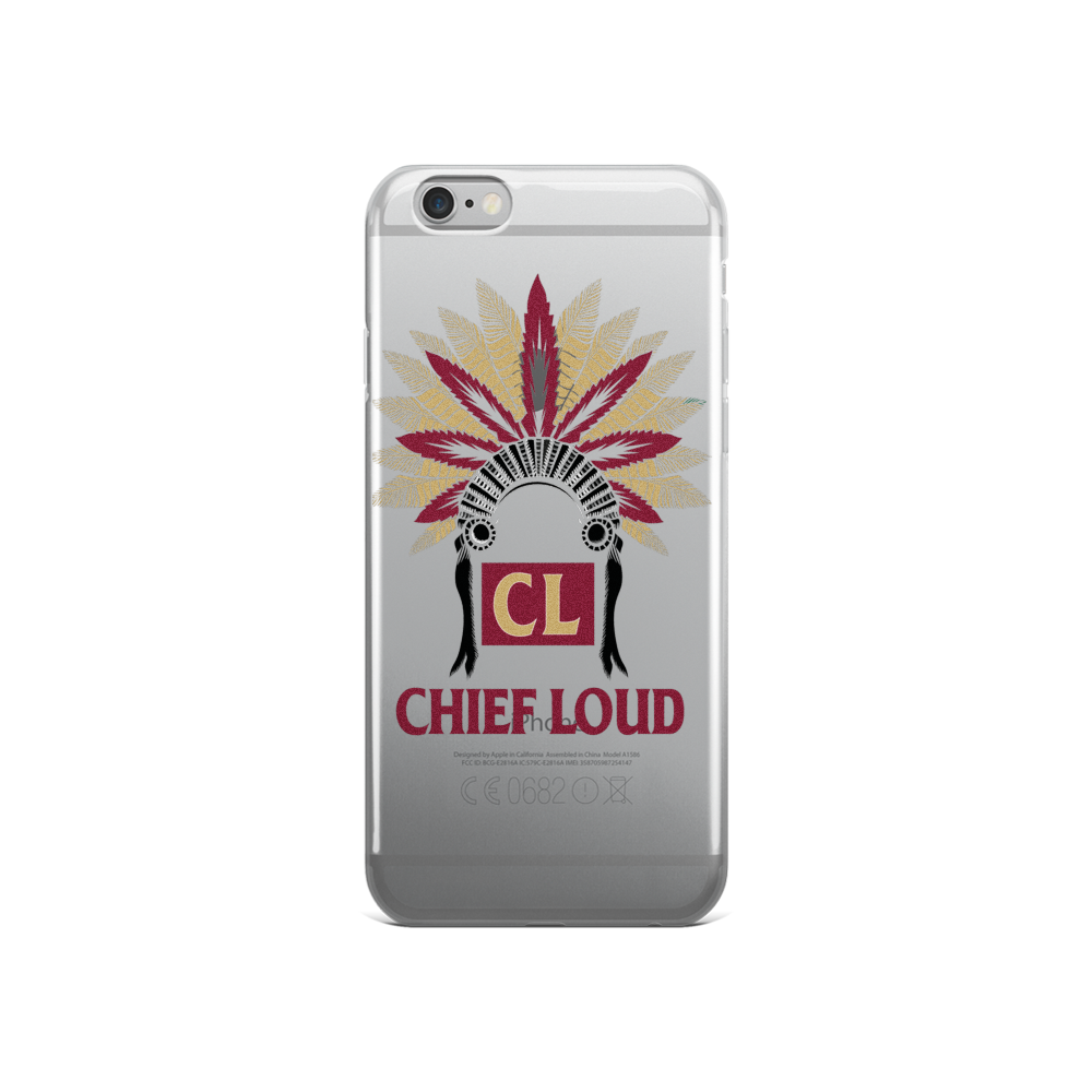 CHIEF LOUD TALLAHASSEE iPhone 5/5s/Se, 6/6s, 6/6s Plus Case - Chief Loud