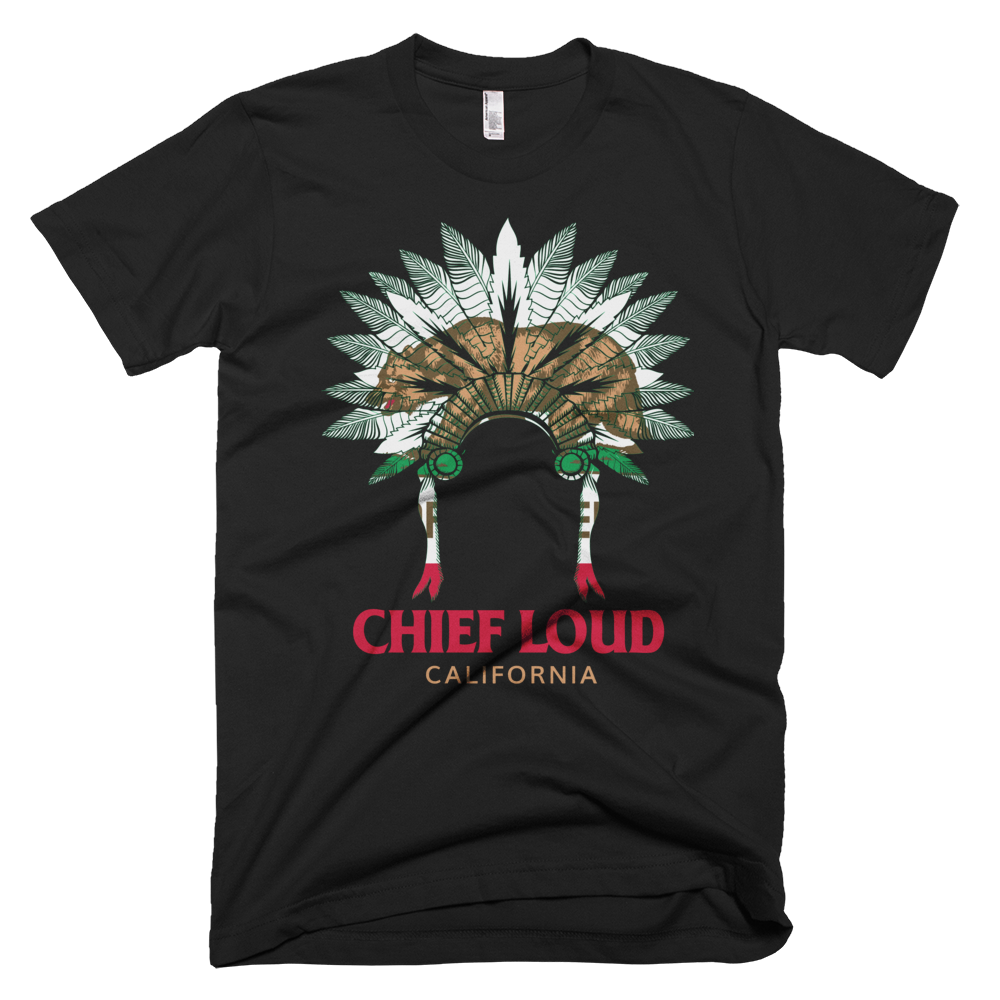 CHIEF LOUD CALIFORNIA T-Shirt - Chief Loud
