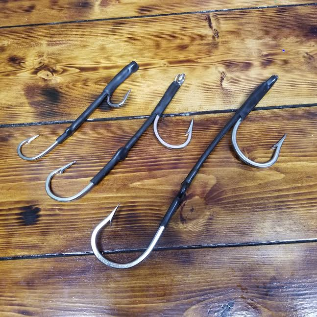 lobo-sportfishing - Lobo Lures Heavy Duty 180 Degree Double Hook Set Rig - Lobo Lures - Hooks