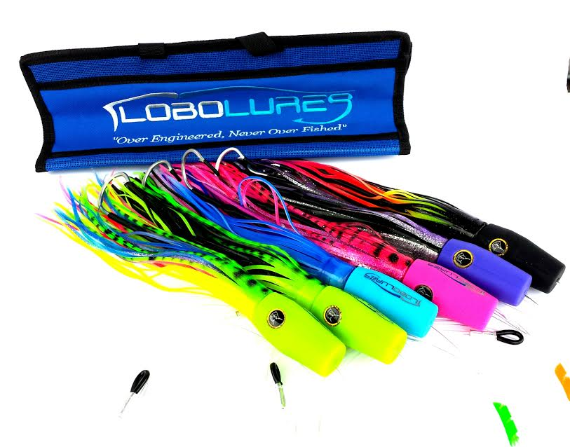 Lobo Lures #55 Typhoon Soft Head Billfish Teaser Combo 6 Pack , Marlin Lure, Marlin Lures, Sailfish Lure, Sailfish Teaser, Marlin Teaser, Trolling Lures