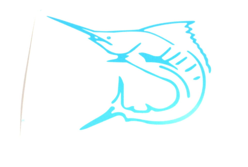 "Signature Lobo ""Marlin Skeleton"" Decals in 5 Colors"
