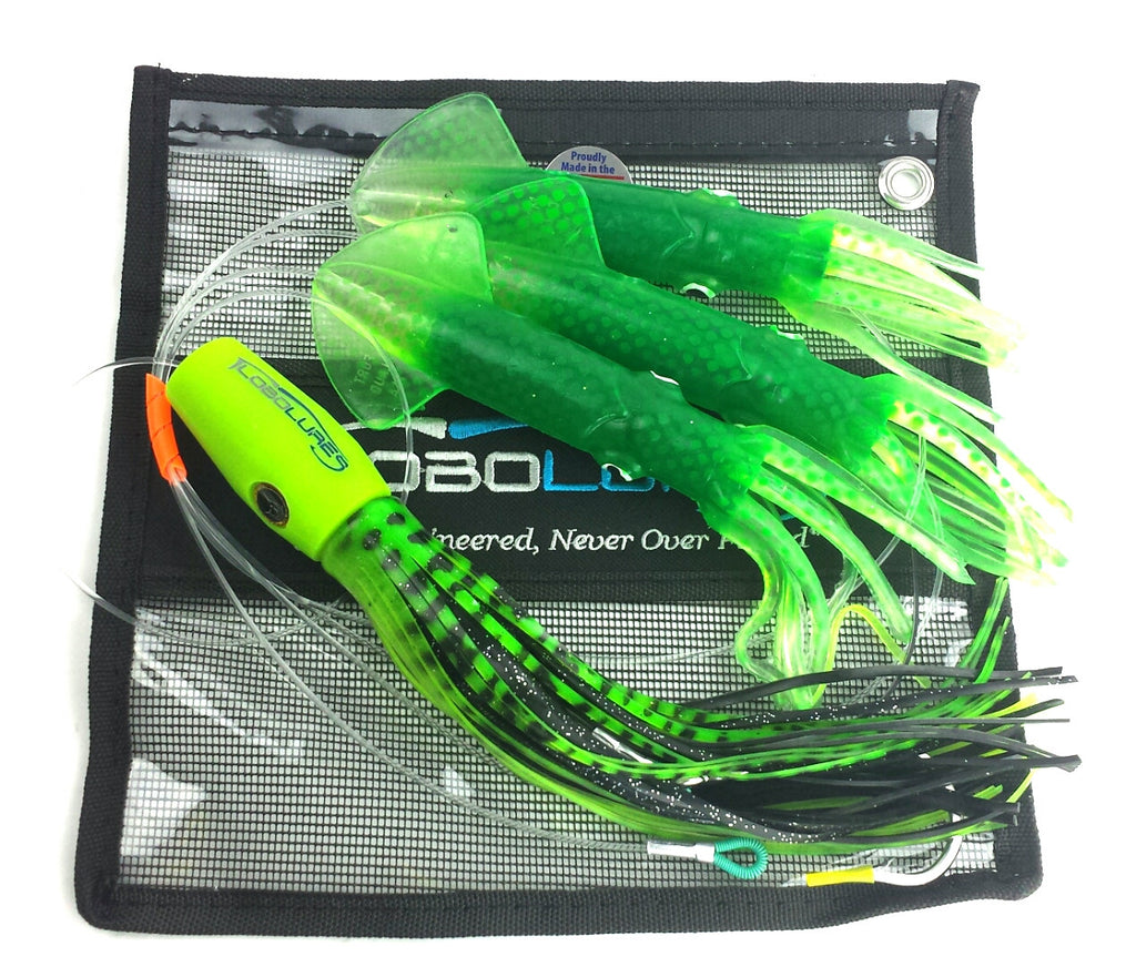 lobo-sportfishing - Typhoon Soft Head Teaser Daisy Chain - Lobo Lures - Daisy Chains