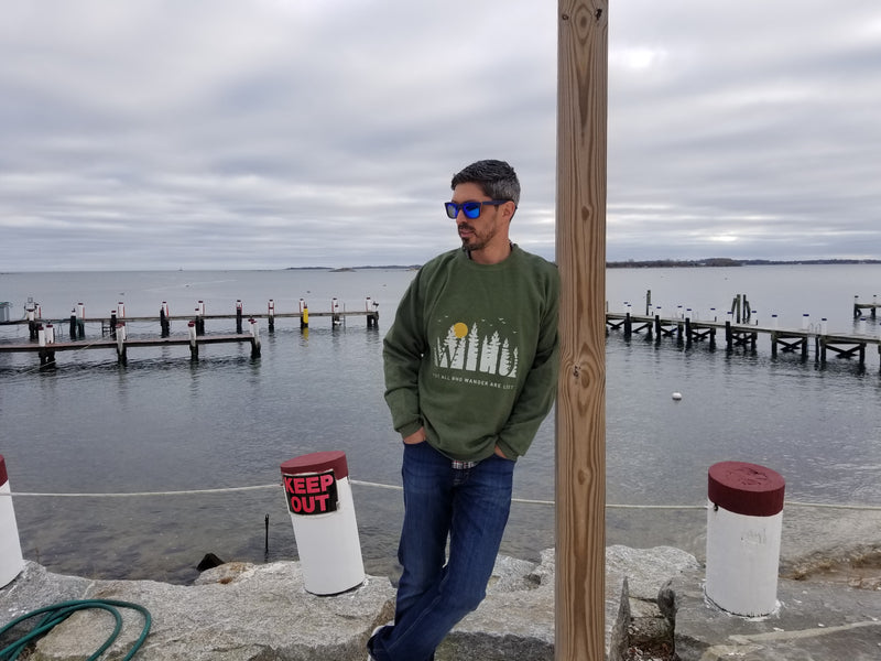 LPG Apparel Co. Wild Outdoors Unisex Crew Neck Sweater