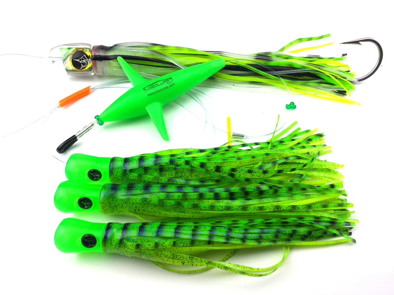 Lobo Lures #200 Mahi Slayer Pelagic Magic Daisy Chain
