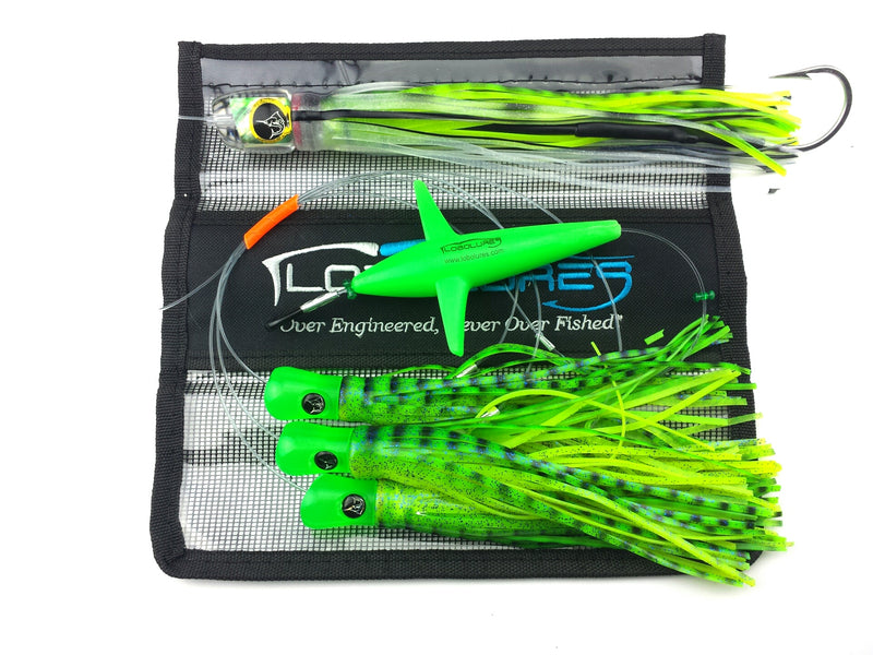 Lobo Lures #201 Red Devil Pelagic Magic Daisy Chain