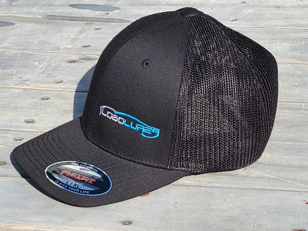 Lobo Lures Signature Logo Flexfit® Trucker Hat