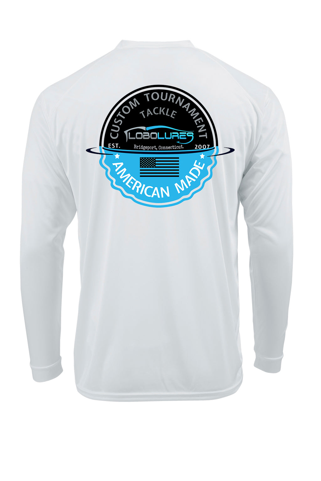 lobo-sportfishing - Lobo Lures Tournament Series Performance UPF 50+ T-shirt - LOBO PERFORMANCE GEAR -