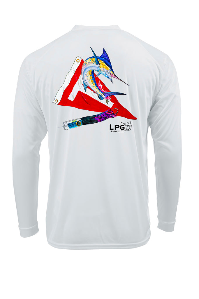 LPG Apparel Co. Tag & Release Marlin Performance UPF 50+ T-Shirt, Fishing T-Shirt, Offshore Fishing Tee, Fishing Tee, Marlin T-Shirt
