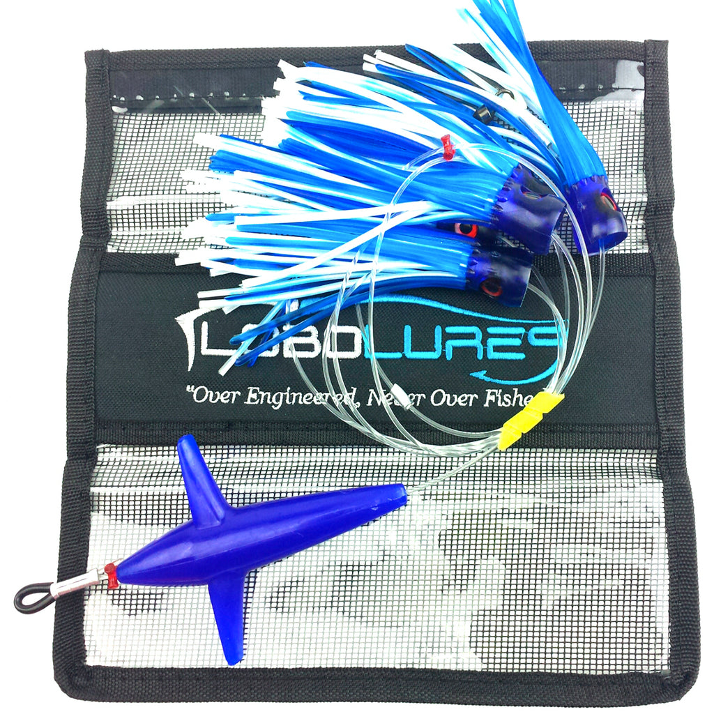 lobo-sportfishing - Lobo Lures #214 Chugger Game Fish Teaser Daisy Chain - Lobo Lures - Daisy Chains