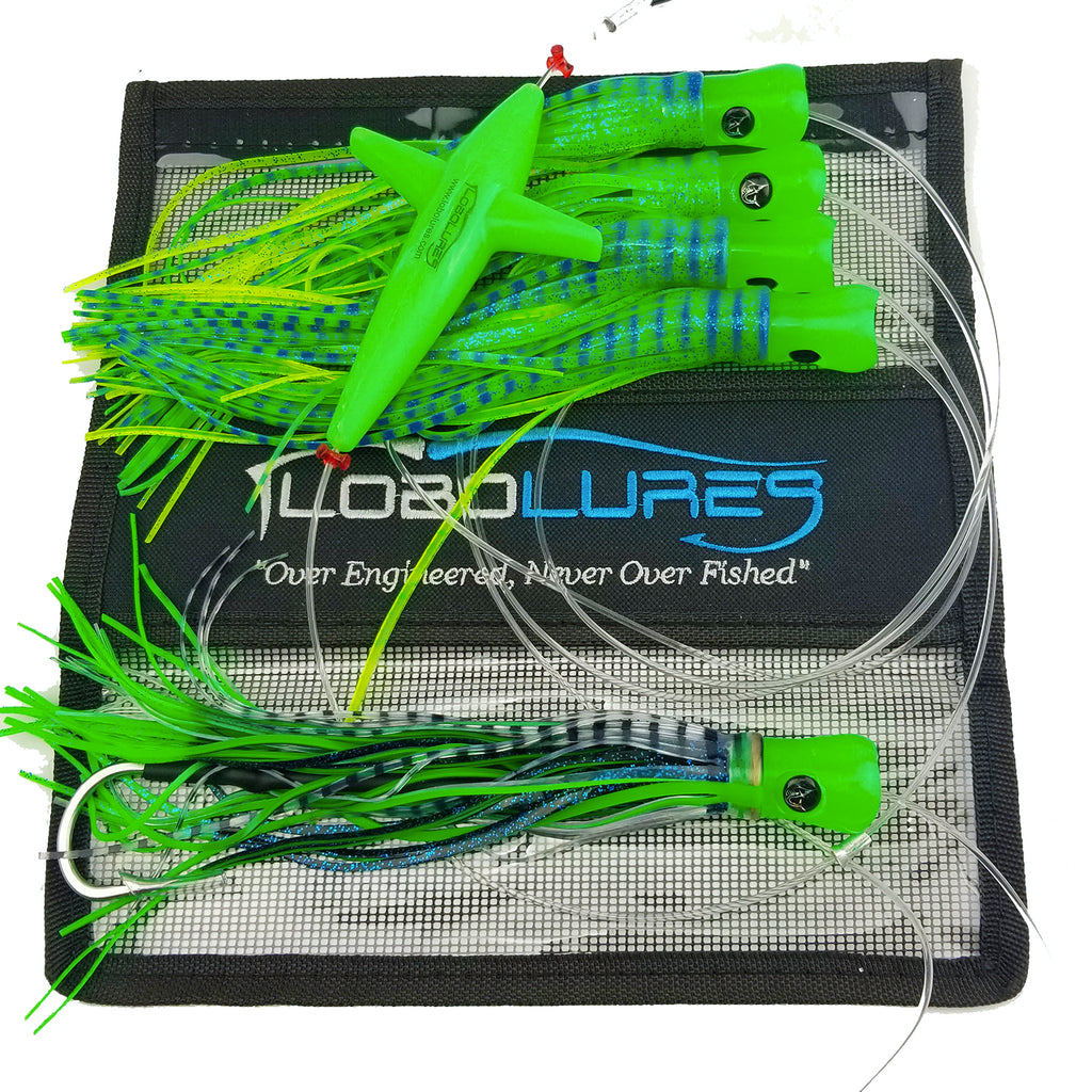 lobo-sportfishing - Lobo Lures #215 SkipJack Hybrid UV Splash Daisy  Chain - Lobo Lures - Daisy Chains