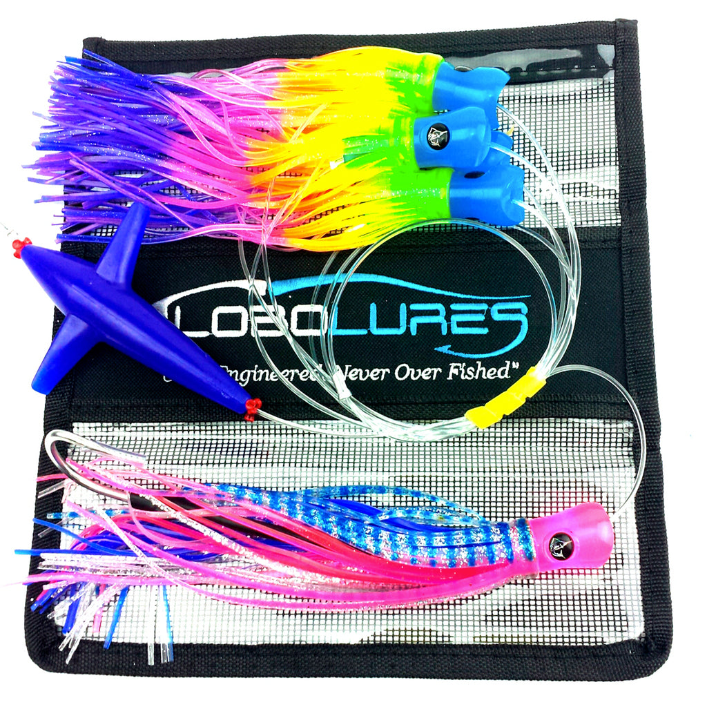 Lobo Lures #215 SkipJack Hybrid UV Splash Daisy  Chain