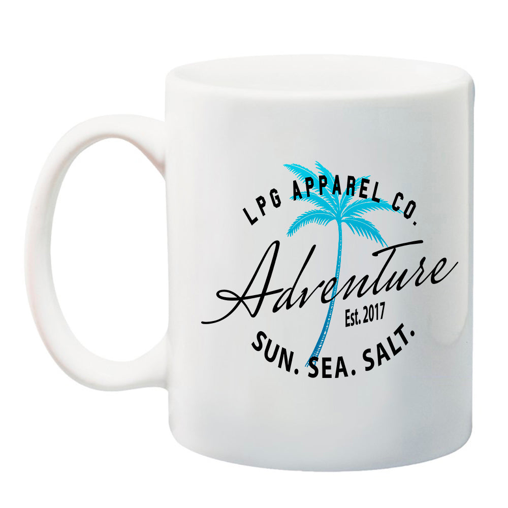 lobo-sportfishing - LPG Apparel Co. Adventure Palms 11 oz. Ceramic Coffee Mug - LPG Apparel Co. - Drinkwear