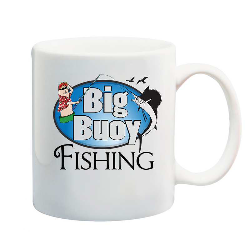Big Buoy Fishing Coffee Mug