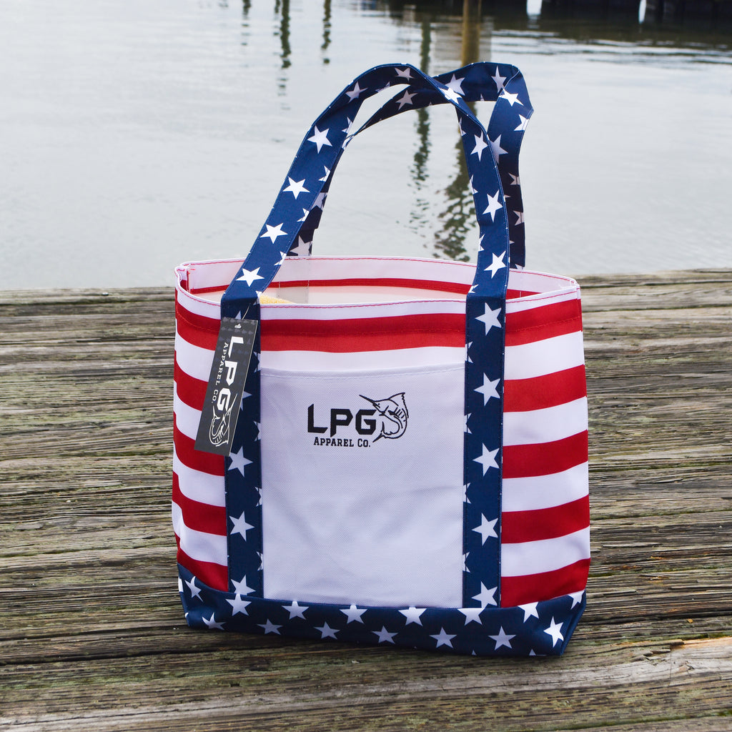 LPG Apparel Co. Americano Heavy Duty Canvas Boat & Beach Tote
