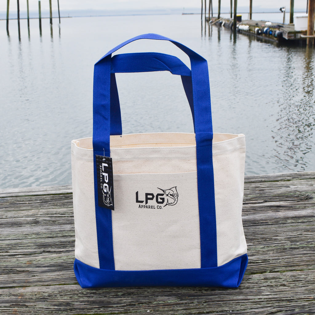 LPG Apparel Co. Heavy Duty Medium Cotton Canvas Tote