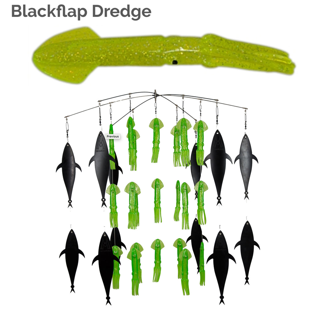 lobo-sportfishing - SquidNation Blackflap Squid Dredge - Squidnation -