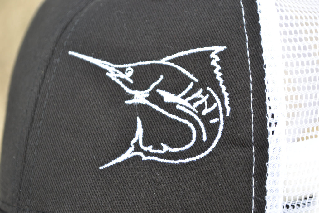 lobo-sportfishing - Marlin Skeleton Performance Cap - Lobo Marine Products LLC. - Apparel