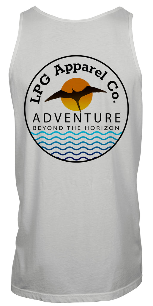 lobo-sportfishing - LPG Apparel Co. Frigate Adventure Unisex Tank Top - Lobo Lures -