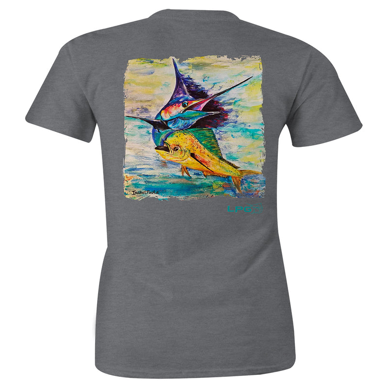 LPG Apparel Co. Sailfish Mahi Combo Womens T-Shirt