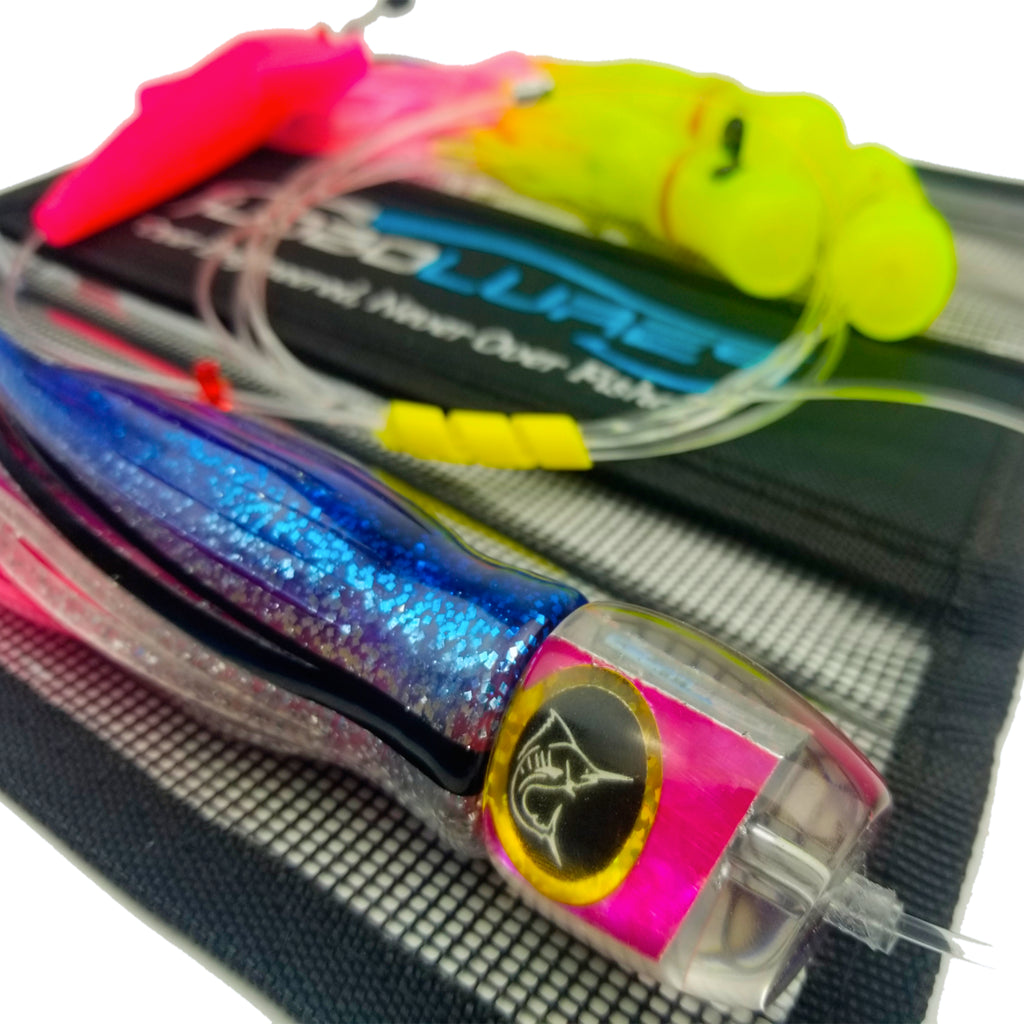 Lobo Lures #202 Bigeye Candy UV Pelagic Magic Skipjack Hybrid Daisy Chain