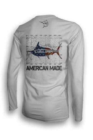 Bigeye Tuna Hunt LS Performance Shirt UPF 50