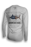 American Made Marlin Performance Shirt UPF 50
