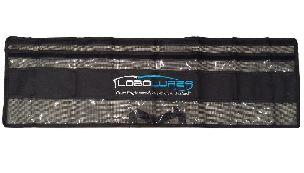 "lobo-sportfishing - Lobo Lures Single 42"" Premium Spreader Bar Storage Bag - Lobo Lures - Lure Bags"