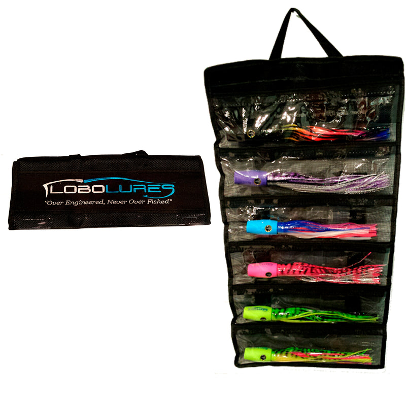 Lobo Lures #2 Large 6 Pocket Lure Bags
