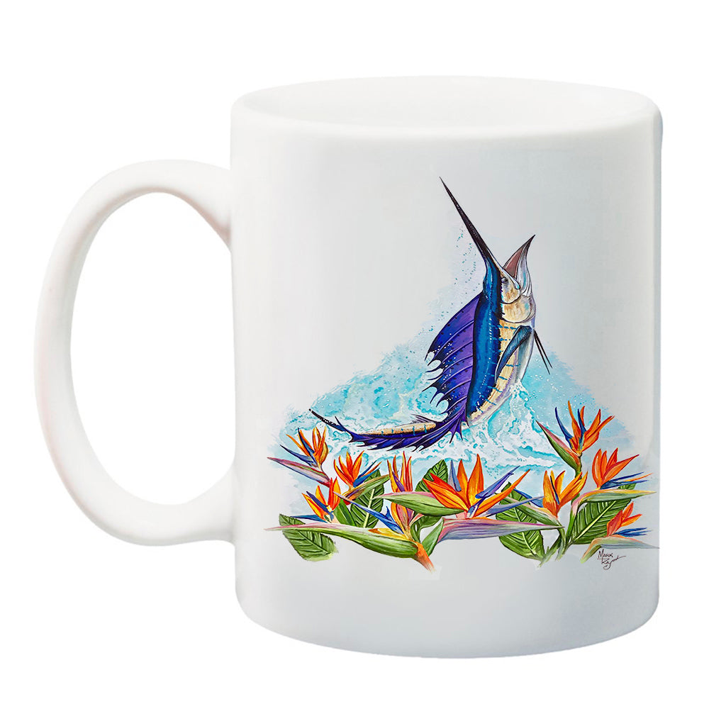 lobo-sportfishing - LPG Apparel Co. Paradise Sailfish 11 oz. Coffee Mug - Lobo Lures - Drinkwear