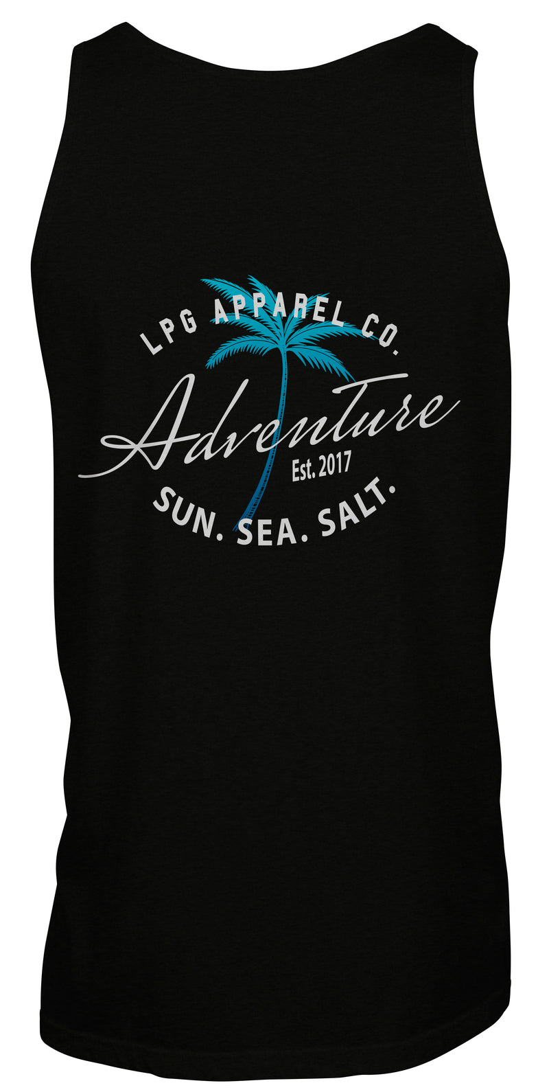 LPG Apparel Co. Adventure Palms Sun. Sea. Salt. Surf Unisex Tank Top