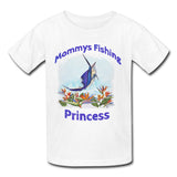 Toddlers Sailfish Fishing Princess T-Shirt 2T-5T