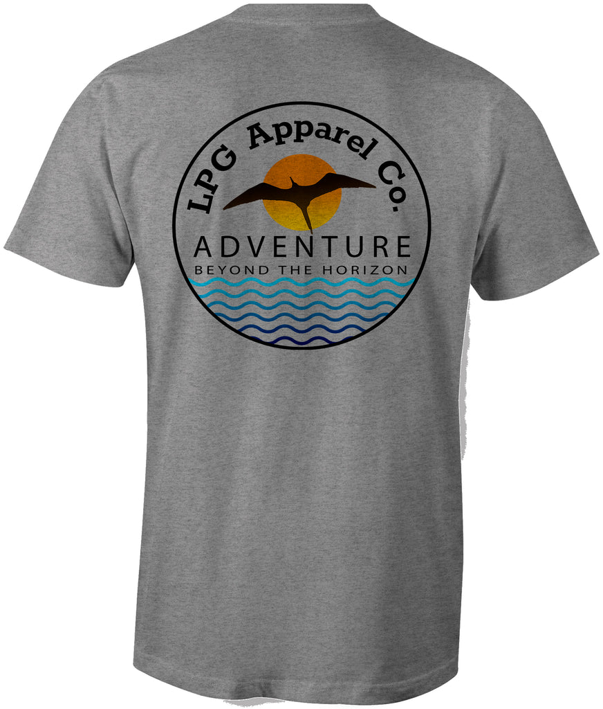 lobo-sportfishing - LPG Apparel Co. Frigate Adventure Unisex T-shirt - LPG Apparel Co. - T-Shirt