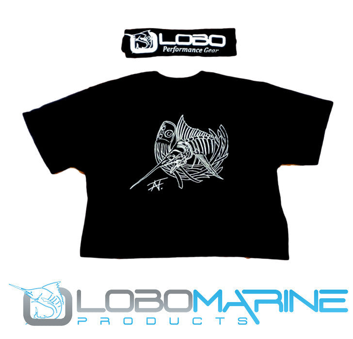 Marlin Skeletus Performance Tee