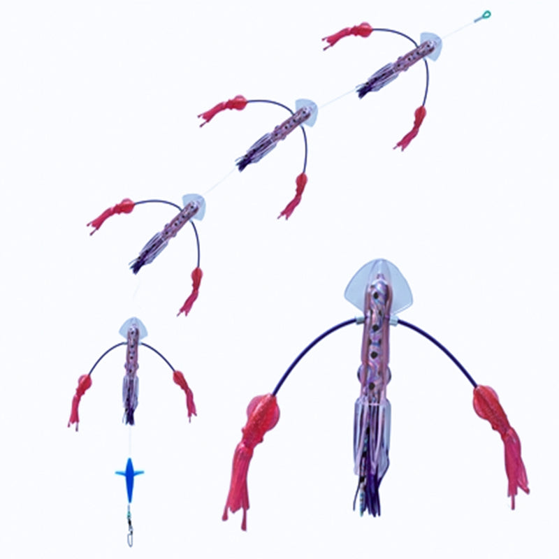 SquidNation Long Tail Flippy Floppy Thing Tuna Marlin Magnet